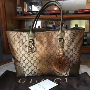 Rare Authentic Gucci Tote